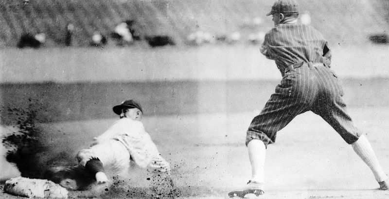Like Hall of Famer Sam Rice, B would have been safe.