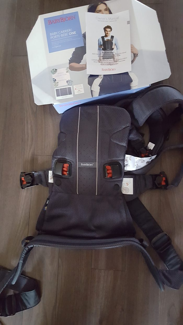 d18b5ca03152 After using this bad boy for a few weeks now, I can honestly say that the Baby  Carrier One was a real game-changer for me.