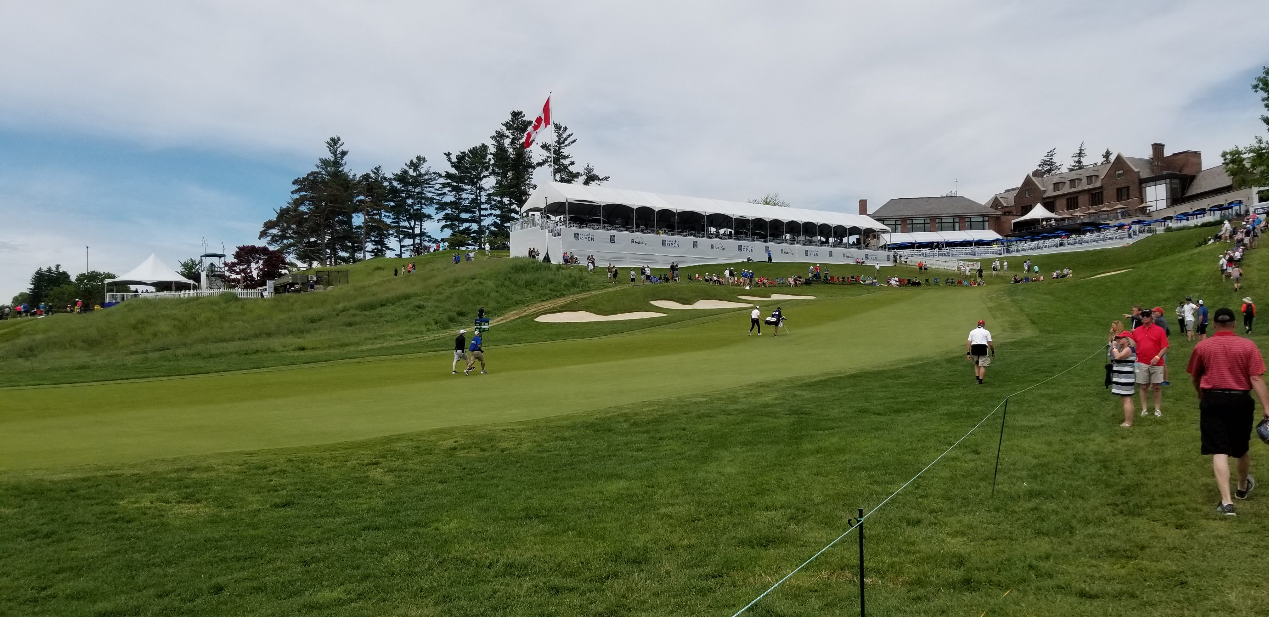 A View of the RBC Canadian Open