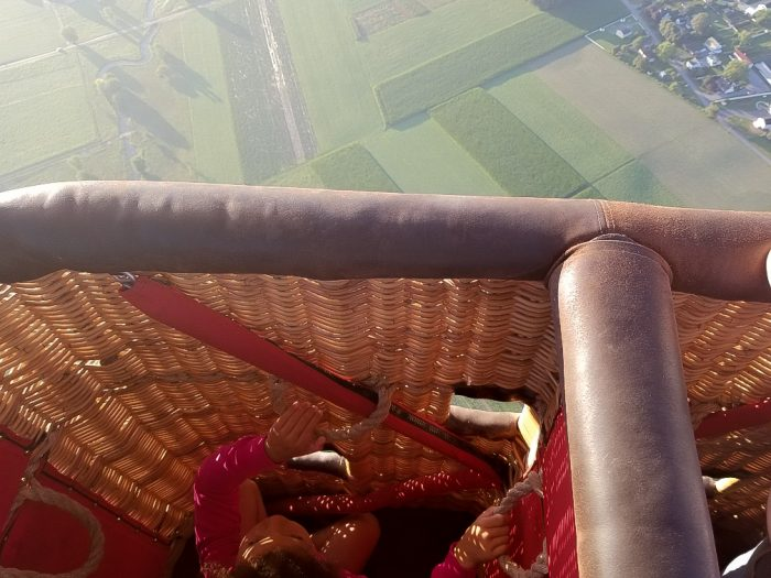 hot air balloon ride experience